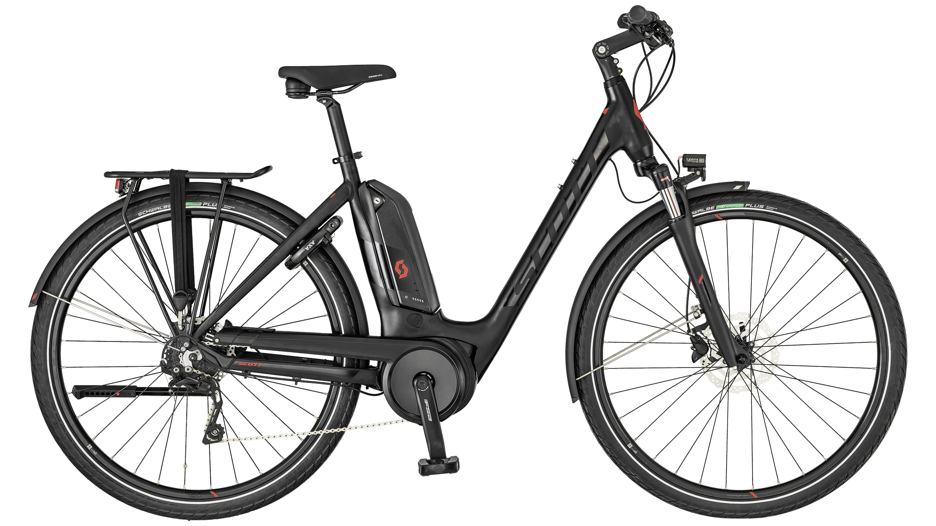 TOP E-Bike vom Lehr in Horn - Scott Sub Tour eRide 10 Uni. black